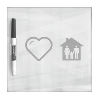 Cool Family Homes Dry Erase Boards