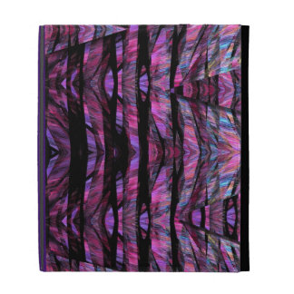 Cool fantasy stained glass design iPad case