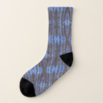 Cool Feathers Patterned Socks