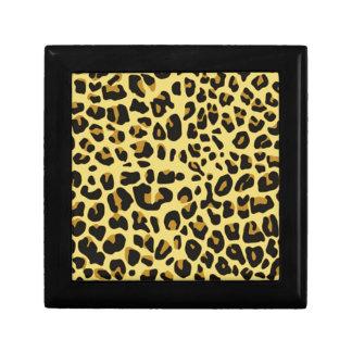 cool feline skin pattern image print jewelry boxes