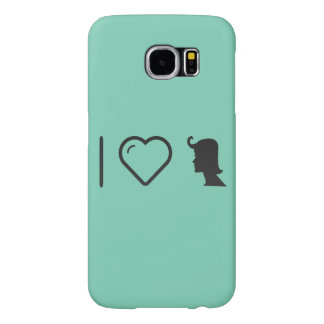 Cool Female Hairstyles Samsung Galaxy S6 Cases