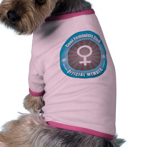 Cool Feminists Club Pet Tshirt