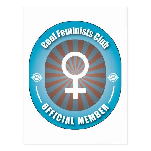 Cool Feminists Club Post Card