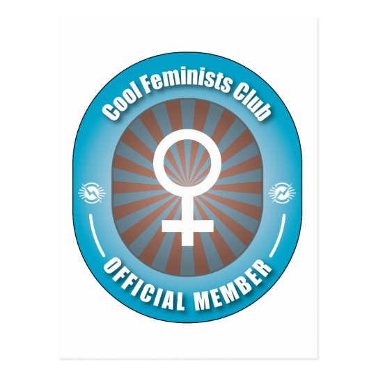 Cool Feminists Club Postcard