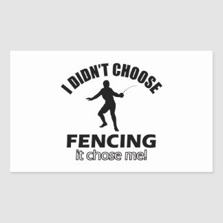 Cool FENCE designs Sticker