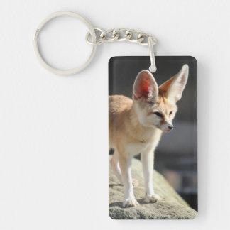 Cool Fennec Fox Keychain