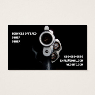 Cool Ffl business card with Bullet