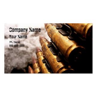 Cool ffl dealer card business card template