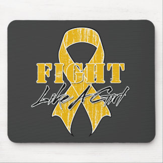 Cool Fight Like A Girl Appendix Cancer Mouse Pad
