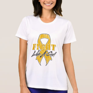 Cool Fight Like A Girl Appendix Cancer Tshirt
