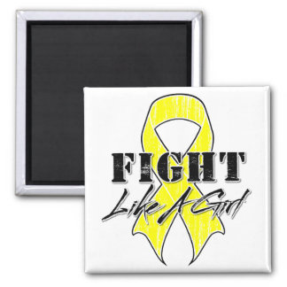 Cool Fight Like A Girl Bladder Cancer Magnet