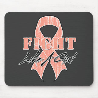 Cool Fight Like A Girl Endometrial Cancer Mouse Pad