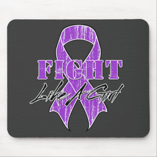 Cool Fight Like A Girl Fibromyalgia Mouse Pad