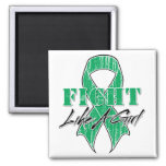 Cool Fight Like A Girl Liver Cancer Magnet
