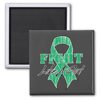 Cool Fight Like A Girl Liver Disease Refrigerator Magnets
