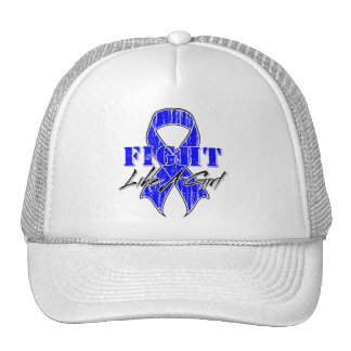 Cool Fight Like A Girl Rectal Cancer Hat