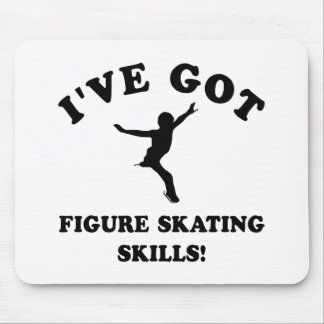 Cool FIGURE SKATING SKILLS designs Mouse Pad