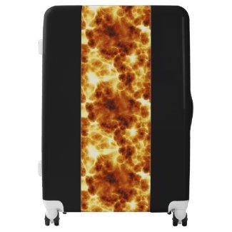 Fire Design Large Suitcase