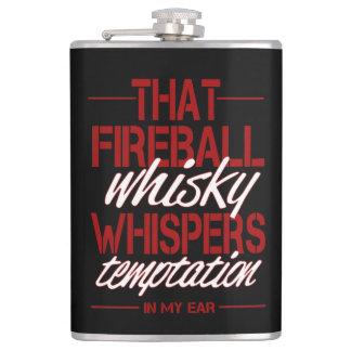 Cool Fireball Alcohol Flask