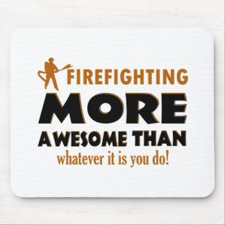 Cool Firefighting designs Mousepad