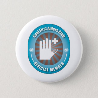 Cool First Aiders Club Pinback Button