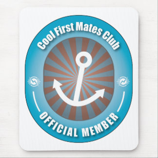 Cool First Mates Club Mouse Pad