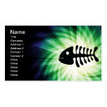 Cool Fish Bones Double-Sided Standard Business Cards (Pack Of 100)