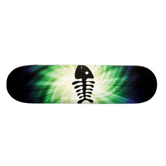 Cool Fish Bones Skate Deck