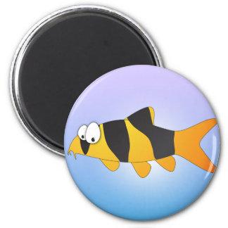 Cool fish - Clown loach Magnet
