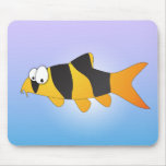 Cool fish - Clown loach Mouse Pad