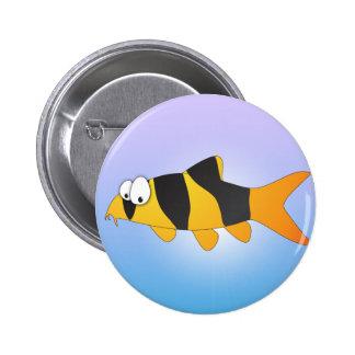 Cool fish - Clown loach Pinback Button