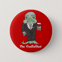 Cool Fish Gifts Custom Button Pin