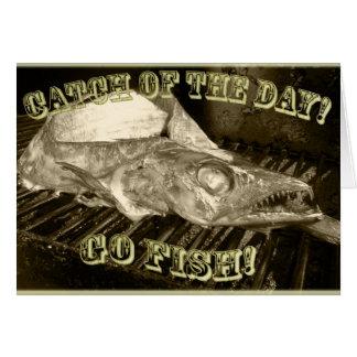 Cool Fish Greeting Card! Card