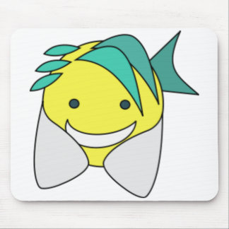 Cool Fish Mouse Pad