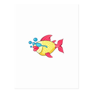 COOL FISH POSTCARD