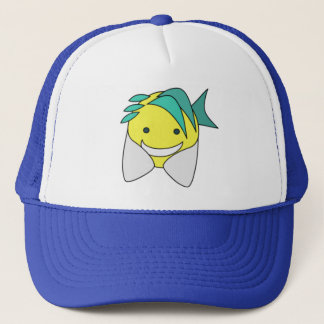 Cool Fish Trucker Hat
