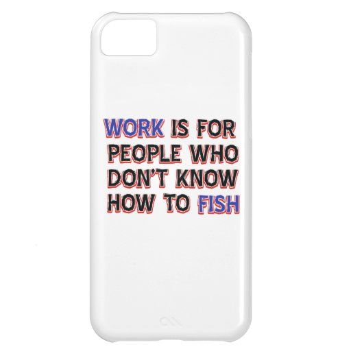 Cool fishing designs iPhone 5C cases