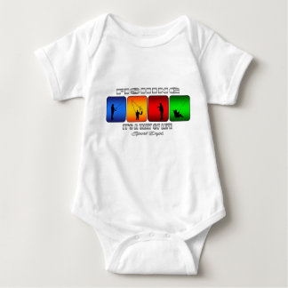 Cool Fishing It Is A Way Of Life Baby Bodysuit