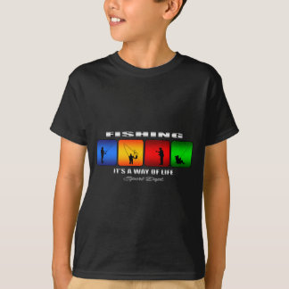 Cool Fishing It Is A Way Of Life T-Shirt
