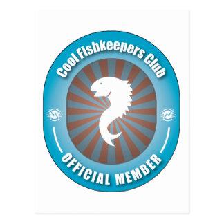 Cool Fishkeepers Club Postcard