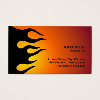 Cool Flame business card