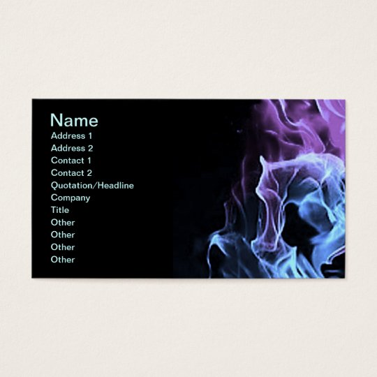 Cool Flames Business Card
