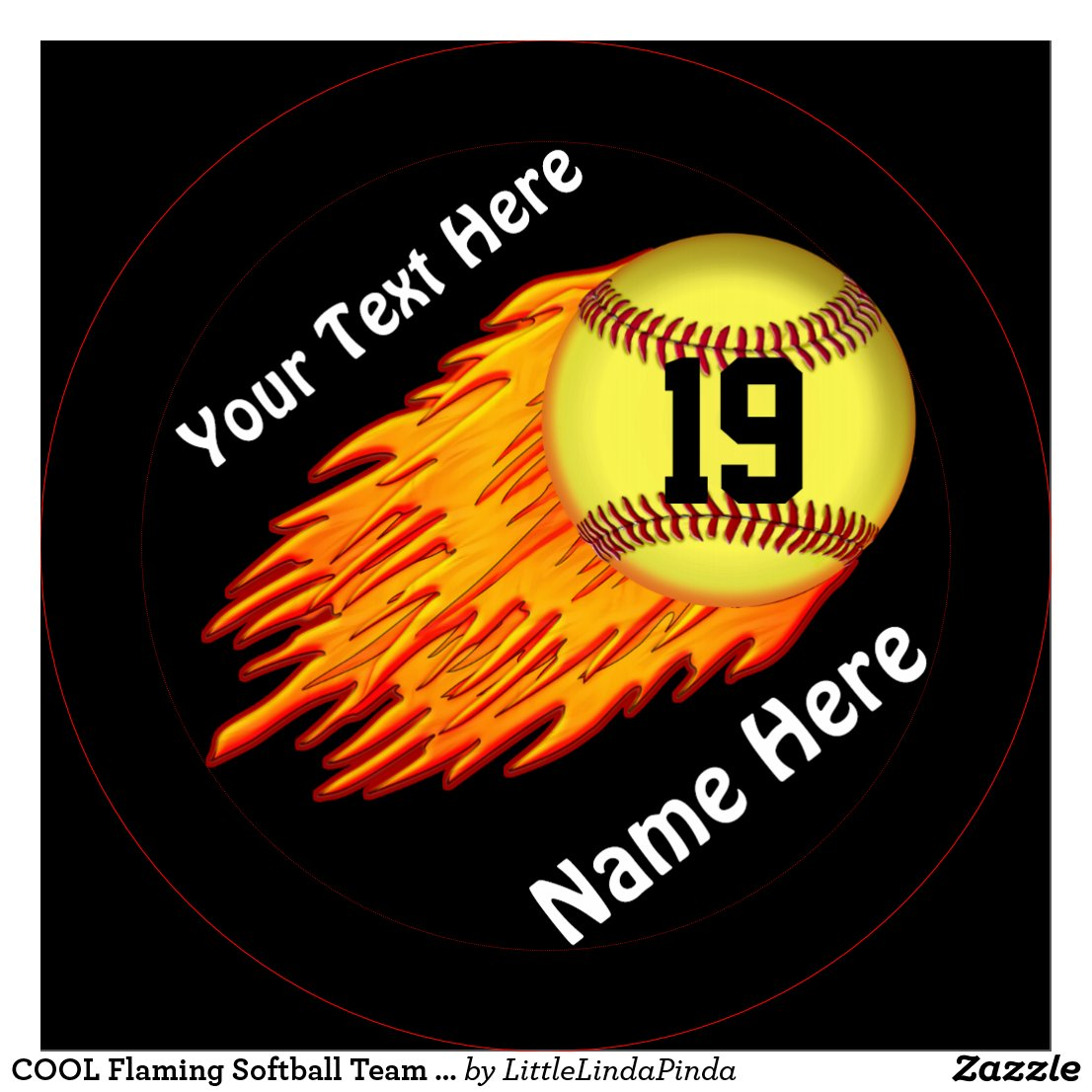 Softball team names cool flaming softball team