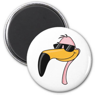 Cool Flamingo Magnet