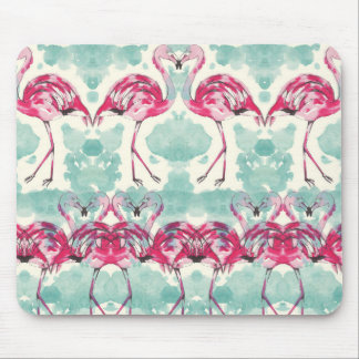 COOL flamingo mouse propellant-actuated device Mouse Pad