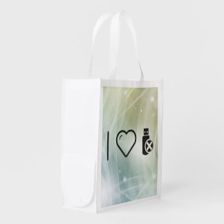 Cool Flash Usbs Market Tote