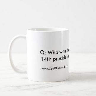 Cool Flashcards 14th President Mug