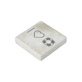 Cool Floating Lifesavers Stone Magnet