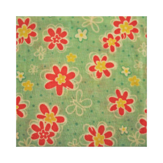 cool floral pattern stretched canvas prints