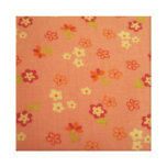 cool floral pattern impressão em tela canvas